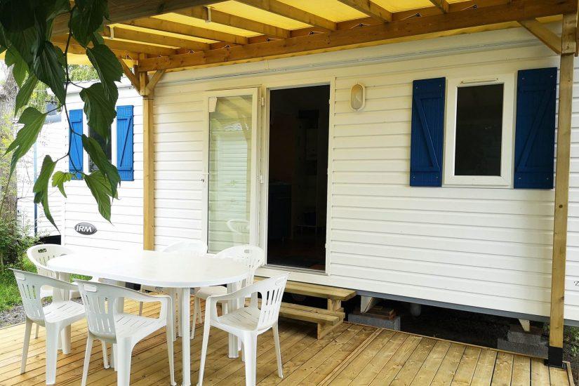 Camping Grand Pré : Terrasse Azur