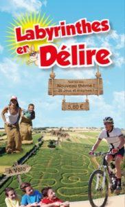 Camping Grand Pré : Flyer Labyrinthe En Delire