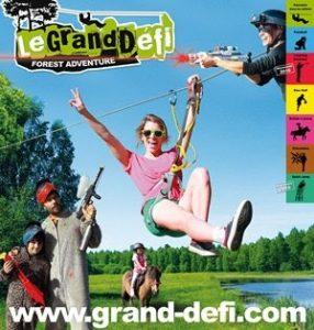 Camping Grand Pré : Granddéfi