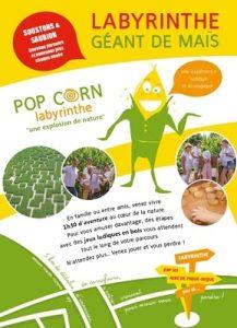 Camping Grand Pré : Labyrinthe Pop Corn